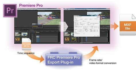 adobe premiere pro xdcam plugin file base video format converter frc export plug in