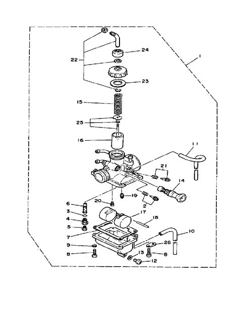 yamaha dt125r wiring diagram wiring diagram and fuse box