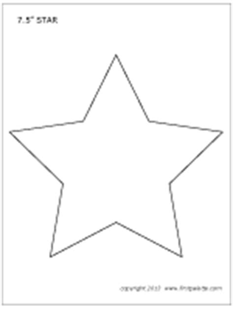 printable star a4 stars printable templates coloring pages