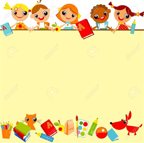 clipart bambini a scuola school clipart horizontal border 20 free cliparts
