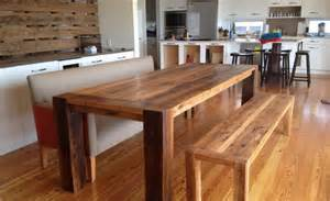 Kitchen Table Reclaimed Wood Reclaimed Wood Kitchen Table Plans Arisandhi