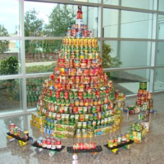 Tree Of Food Pantry by Can Goods Tree Kickass Trees