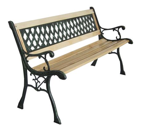cast iron garden bench legs outdoor wooden 3 seater cross lattice garden bench with