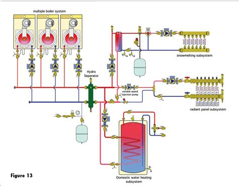 primary secondary piping diagrams zone valves with navien