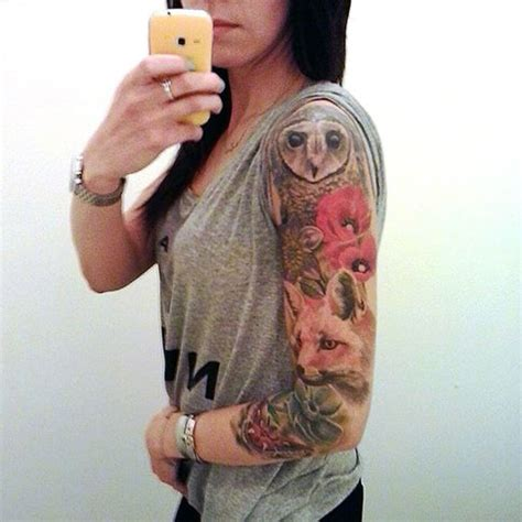 tattoo animal stack 35 best tattoo sleeve ideas for women that will boggle