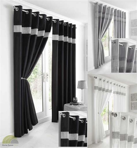 Standard Bedroom Window Size faux silk contemporary eyelet ring top curtains range of