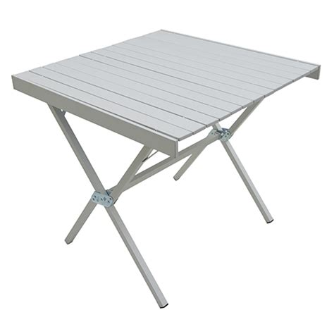 alps mountaineering square dining table alps mountaineering dining table square silver 31x31x28