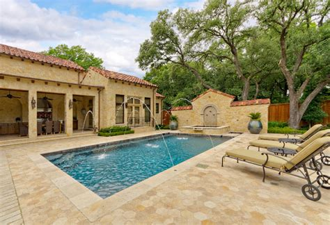 mediterranean pools private residence mediterranean tuscan mediterranean pool dallas by harold leidner