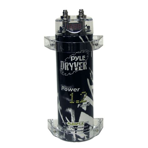 farad digital power capacitor pyle pldcp1 2 on the road capacitors