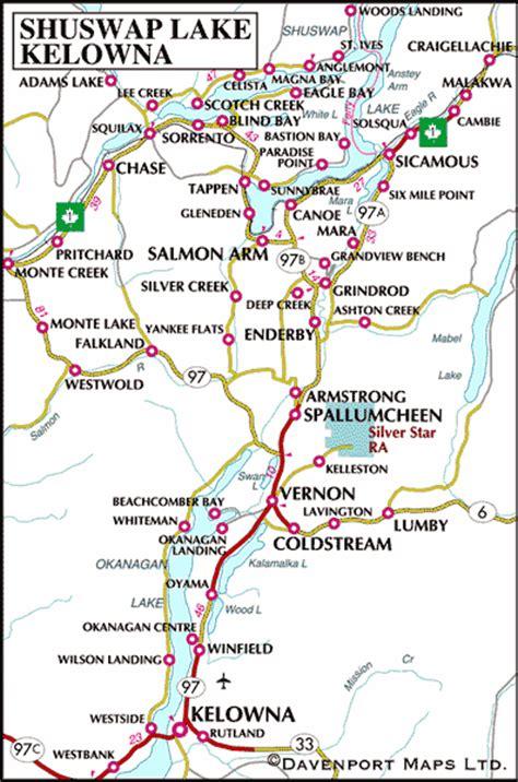 Kelowna Rental Accomodations Maps and Directions   alluraDirect.com