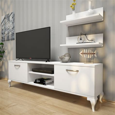 rani  duvar rafli tv uenitesi kitaplikli modern tv