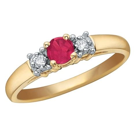 Ruby 3 9ct 9ct gold ruby 3 ring 51t28 7 10 the