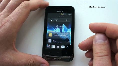 reset android xperia tipo sony xperia tipo dual hard reset factory reset and