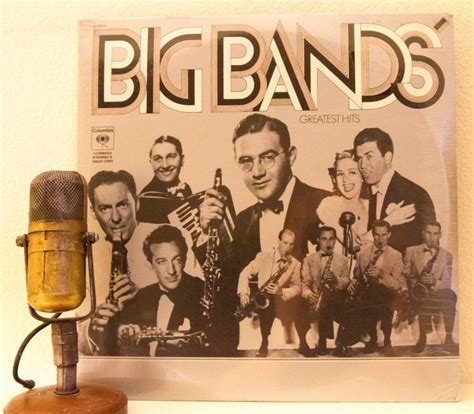 big band swing hits big band vinyl record album lp 1930 s big band swing
