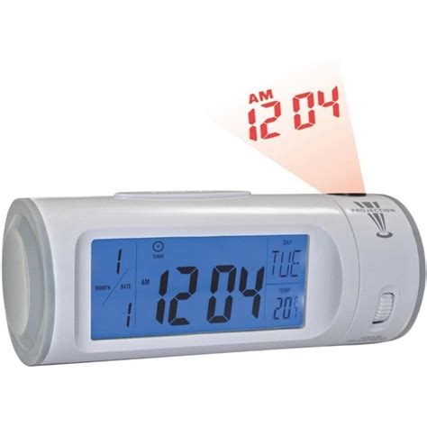 alarm clock with light printed alarm clock with el light and projector usimprints