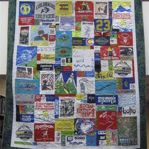 Custom Tshirt Quilt by Custom T Shirt Quilts Timeless Thread Design