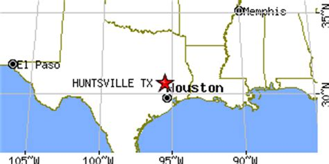 latitude and longitude map of texas huntsville texas tx population data races housing economy