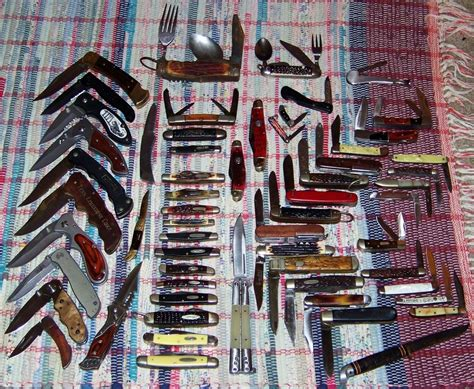 file pocket knife collection jpg wikimedia commons