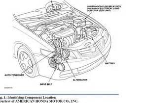 2005 Acura Tsx Serpentine Belt Ac Pully Auto Tensioner Acura Tsx Forum