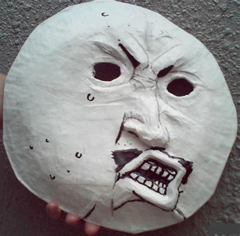 Meme Mask - meme masks y u no by psycho stress on deviantart