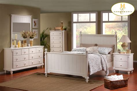homelegance 875w pottery white bedroom set on sale