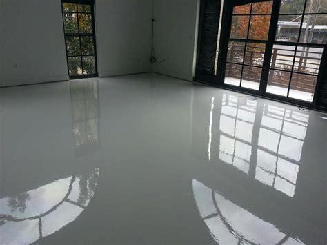 Hometalk   Bright White epoxy and urethane floors are