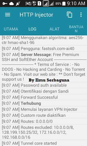 bug telkomsel tercepat config http injector indosat januari terbaru