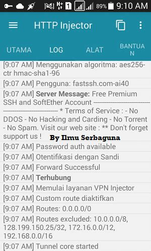 config psiphon telkomsel config http injector indosat januari terbaru