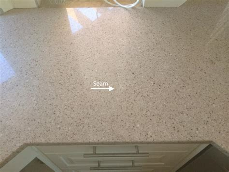 Seamless Quartz Countertops by The Quot Quot Seam Custom Granite Quartz Countertops