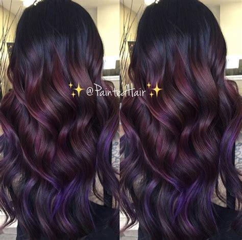 amethyst hair color burgundy purple amethyst hair color hair