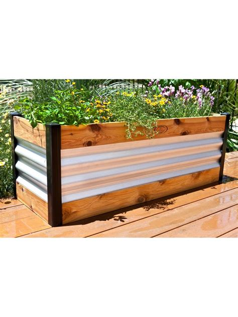 Raised Bed Garden Planter Raised Beds Gardening Raised Bed Planter