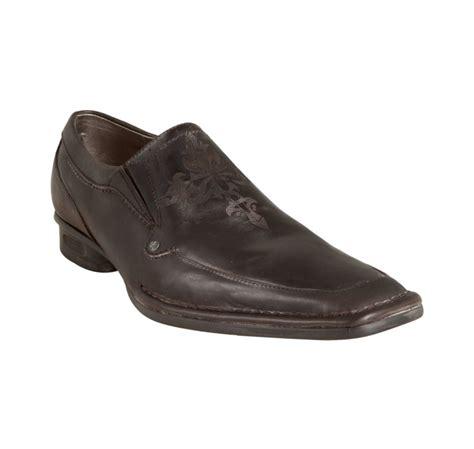 nason loafers nason lounge chocolate leather mescal square toe