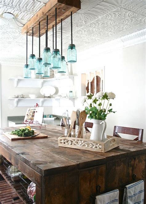 New Kitchen Lighting Farmhouse Style The Turquoise Home by 25 Farmhouse Dining Room Design To Get Inspired Interior God