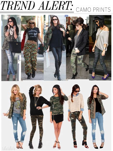 Trend Alert by Trend Alert Camo Print Lulus Fashion