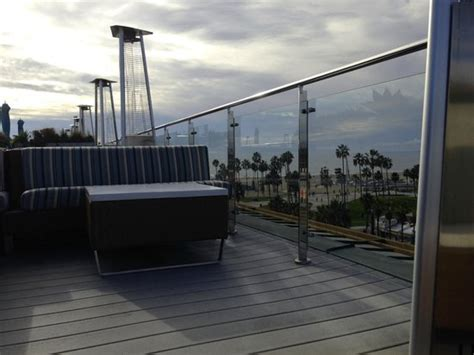 view of venice from hotel erwin rooftop bar