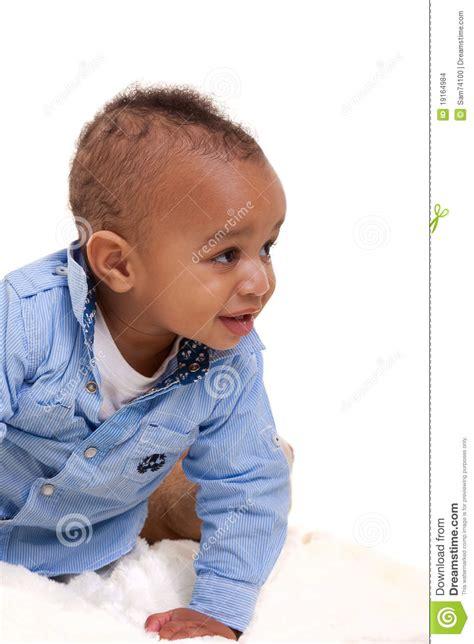 Black Mix Ethnic adorable mixed race baby stock photo image of ethnic