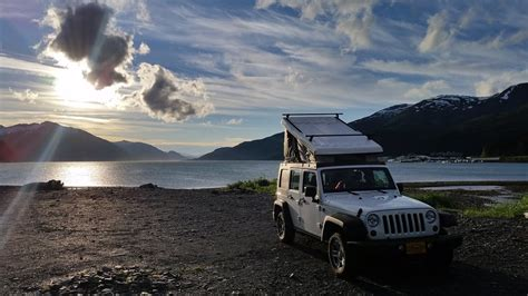 alaska adventure car  camper van rental  anchorage