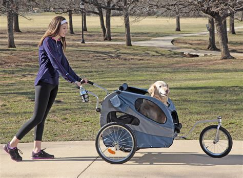 large stroller large houndabout ii bicycle trailer pet stroller kit