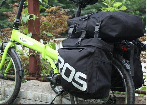 Roswheel Tas Sepeda Bag 37l 14892 roswheel 3 in 1 bicycle rear rack bag pannier bag army green black free shipping dealextreme