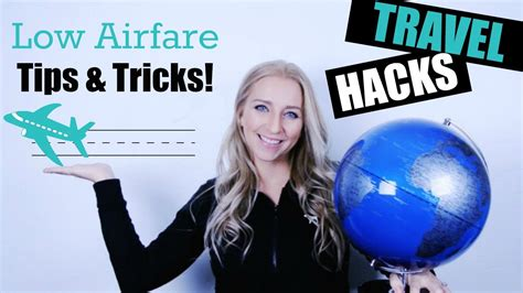 travel hacks  airfare tips tricks youtube