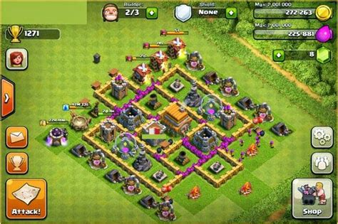 contoh bio clan coc contoh base clash of clans untuk townhall level 6 full