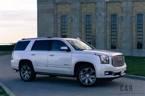 gmc yukon denali review review 2017 gmc yukon denali canadian auto review