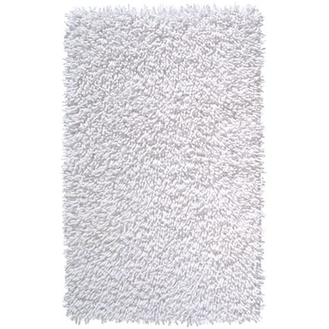 Large White Bathroom Rugs Shagi Cotton Bath Rug White In Accent Rugs
