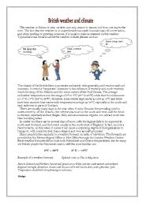 Weather And Climate Worksheets by Teaching Worksheets The Weather