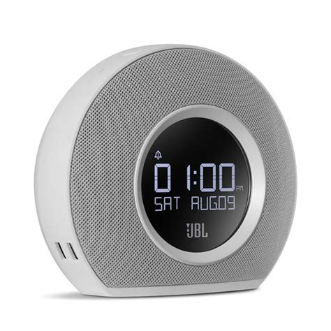 Jbl Horizon jbl horizon bluetooth alarm clock radio with usb chargers ambient light