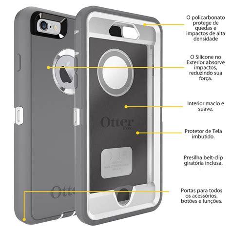 Otterbox Defender Iphone 6 4 7 muhuu importados capa otterbox defender original