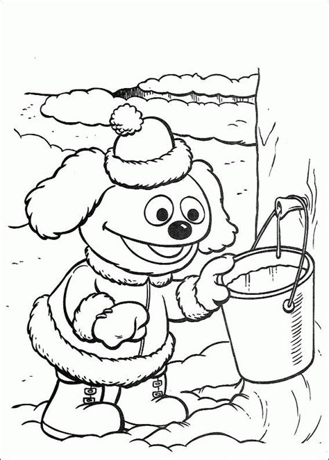 Muppet Babies Coloring Pages by Muppets Baby Coloring Pages Coloringpages1001
