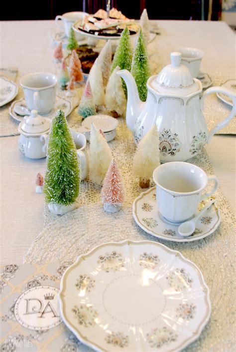 christmas tea party ideas