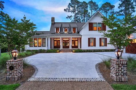 exquisite south carolina farmhouse evoking a low country