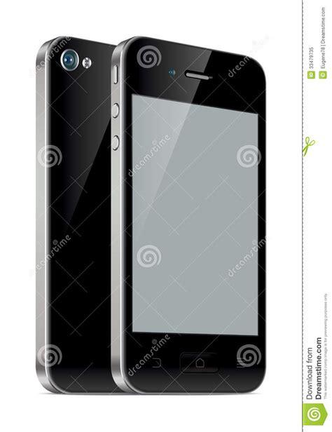 Touchscreen Treq Mgg Original Black smartphone illustration royalty free stock photo image 33479735